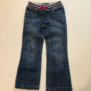 Mini Boden Bottoms - Mini Boden Heart Jeans